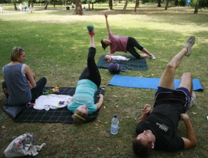 Group Post Natal Exercise